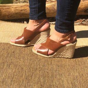 Zara wedges / heels - barely worn. Size 7.5